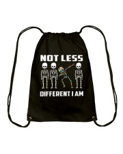 Not Less Different I Am Drawstring Bag thumbnail