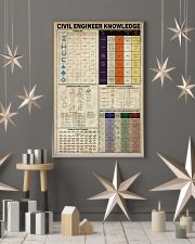 Civil Engineer Knowledge 11x17 Poster lifestyle-holiday-poster-1