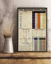 Civil Engineer Knowledge 11x17 Poster lifestyle-poster-3