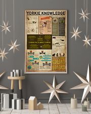 Yorkie Knowledge 11x17 Poster lifestyle-holiday-poster-1