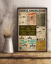 Yorkie Knowledge 11x17 Poster lifestyle-poster-3