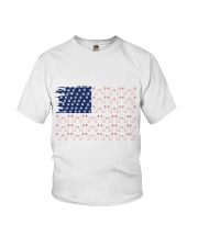 Love Chicken And Dog Youth T-Shirt thumbnail