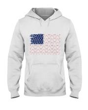 Love Chicken And Dog Hooded Sweatshirt thumbnail