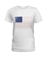 Love Chicken And Dog Ladies T-Shirt thumbnail