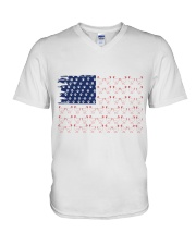 Love Chicken And Dog V-Neck T-Shirt thumbnail