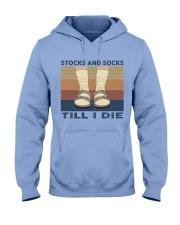 Stocks And Socks Till I Die Hooded Sweatshirt front