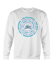 I Am Balanced Crewneck Sweatshirt thumbnail