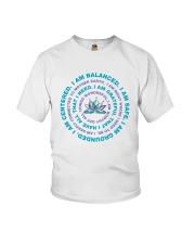 I Am Balanced Youth T-Shirt thumbnail