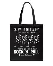 Give Me The Beat Boys Tote Bag thumbnail