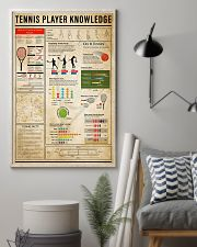 Tennis Player Knowledge 11x17 Poster lifestyle-poster-1