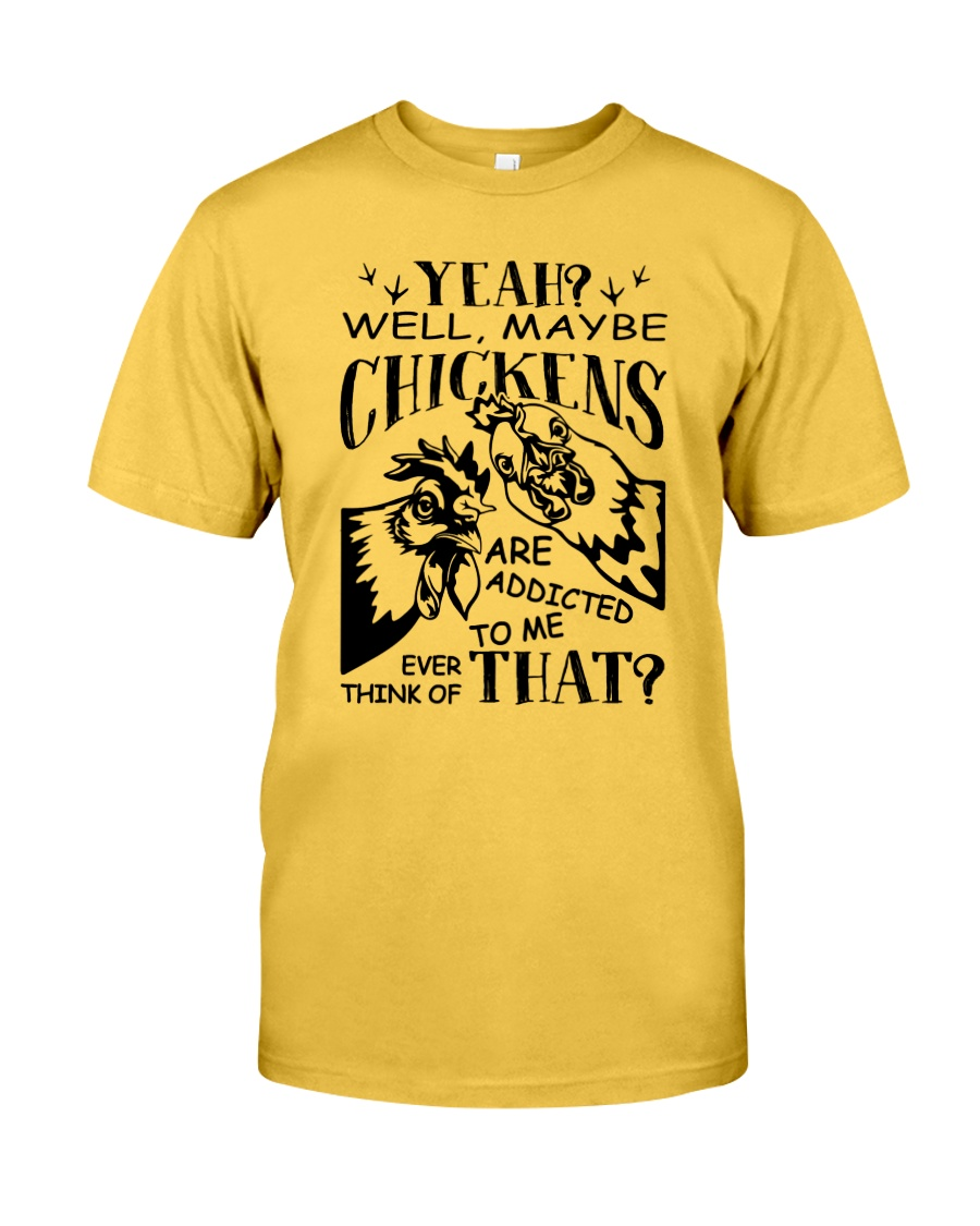 Love Chickens Classic T-Shirt