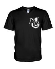 Love Of Skull V-Neck T-Shirt thumbnail