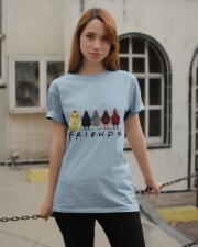 Chicken Is Friends Classic T-Shirt apparel-classic-tshirt-lifestyle-19