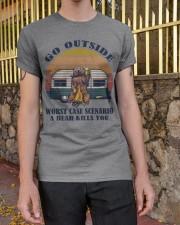 Go Outside Classic T-Shirt apparel-classic-tshirt-lifestyle-21