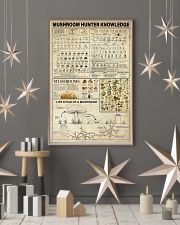 Mushroom Hunter Knowledge 11x17 Poster lifestyle-holiday-poster-1