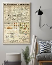 Mushroom Hunter Knowledge 11x17 Poster lifestyle-poster-1