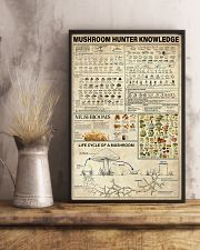 Mushroom Hunter Knowledge 11x17 Poster lifestyle-poster-3