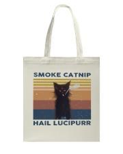 Smoke Catnip Hail Lucipurr Tote Bag thumbnail