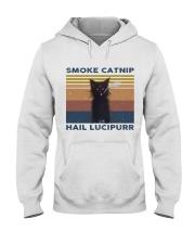 Smoke Catnip Hail Lucipurr Hooded Sweatshirt thumbnail