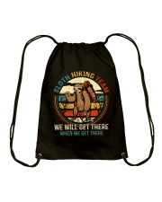 Sloth Hiking Team Drawstring Bag thumbnail