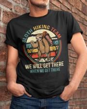 Sloth Hiking Team Classic T-Shirt apparel-classic-tshirt-lifestyle-26