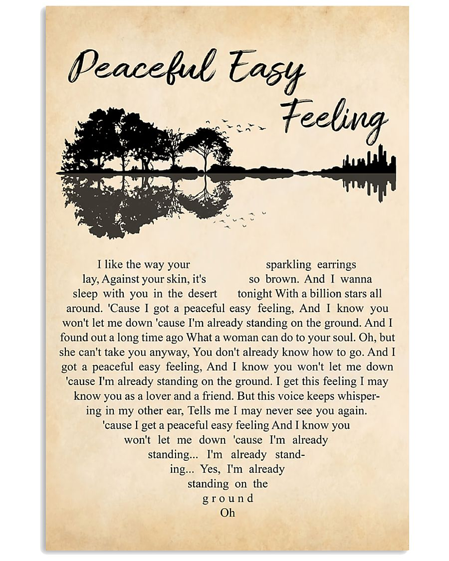 Peaceful Easy Feeling 11x17 Poster