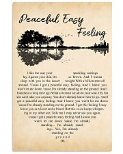 Peaceful Easy Feeling 11x17 Poster front