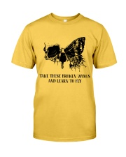 Take These Broken Wings Classic T-Shirt front