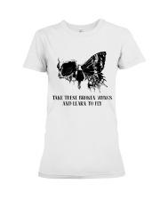 Take These Broken Wings Premium Fit Ladies Tee thumbnail