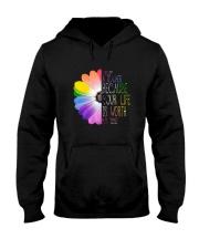 I Became A Teacher Hooded Sweatshirt thumbnail