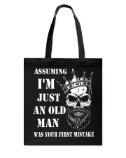 Assuming I'm Just An Old Man Tote Bag thumbnail