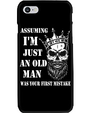 Assuming I'm Just An Old Man Phone Case tile