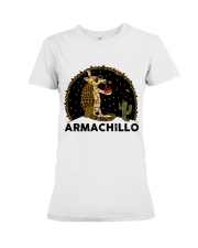 Armachillo Funny Premium Fit Ladies Tee thumbnail