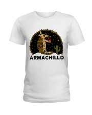 Armachillo Funny Ladies T-Shirt thumbnail