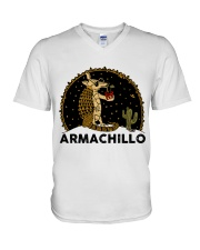 Armachillo Funny V-Neck T-Shirt tile