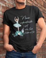 Love Ballet And Cats Classic T-Shirt apparel-classic-tshirt-lifestyle-26