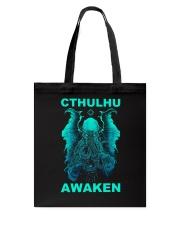 Cthulhu Awaken Tote Bag thumbnail