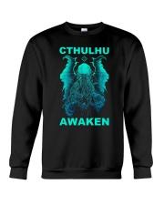 Cthulhu Awaken Crewneck Sweatshirt thumbnail