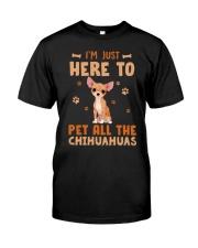 Chihuahuas Classic T-Shirt front