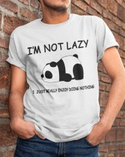 I Am Not Lazy Classic T-Shirt apparel-classic-tshirt-lifestyle-26