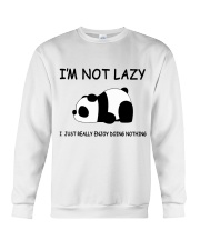 I Am Not Lazy Crewneck Sweatshirt thumbnail