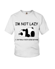 I Am Not Lazy Youth T-Shirt thumbnail