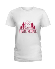 I Hate People Ladies T-Shirt thumbnail