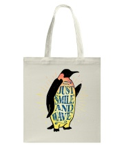 Just Smile And Wave Tote Bag thumbnail