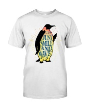 Just Smile And Wave Premium Fit Mens Tee thumbnail