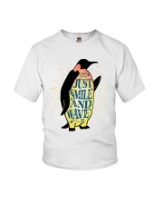 Just Smile And Wave Youth T-Shirt thumbnail