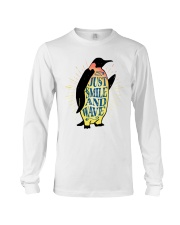 Just Smile And Wave Long Sleeve Tee thumbnail