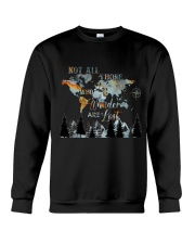 Not All Those Who Wander Crewneck Sweatshirt thumbnail