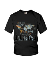 Not All Those Who Wander Youth T-Shirt thumbnail