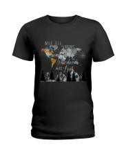 Not All Those Who Wander Ladies T-Shirt thumbnail